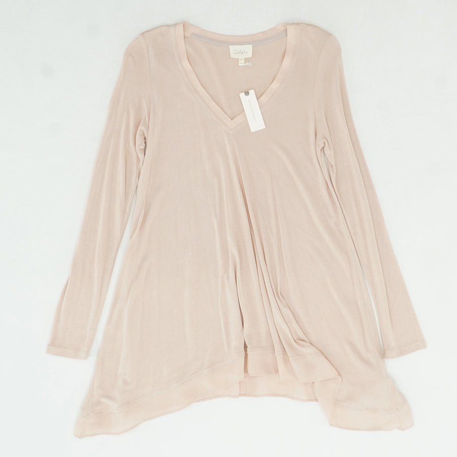 Rose Tyrie V-Neck Blouse Size XS