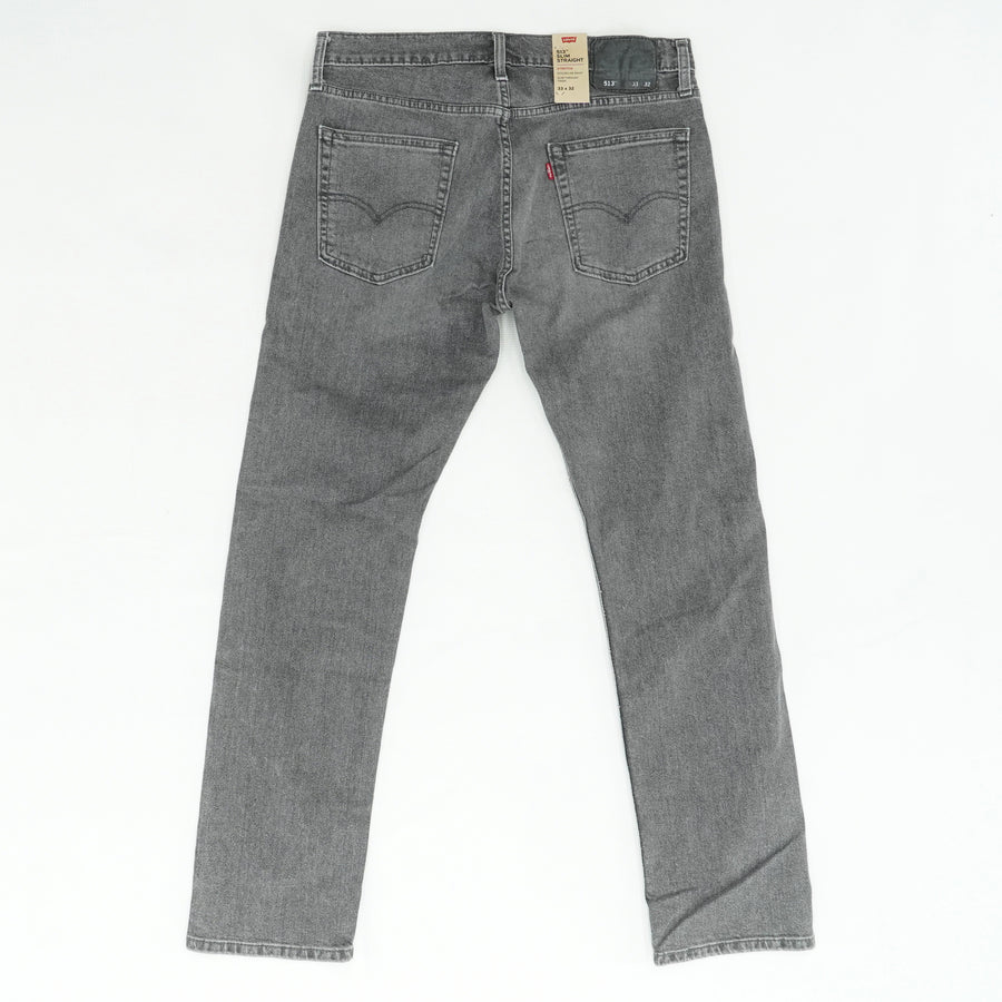513 Slim Straight Faded Jeans Size 33W 32L