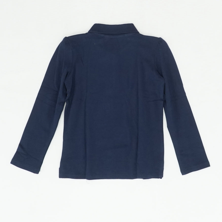 Navy Long Sleeve Shirt Size 5T