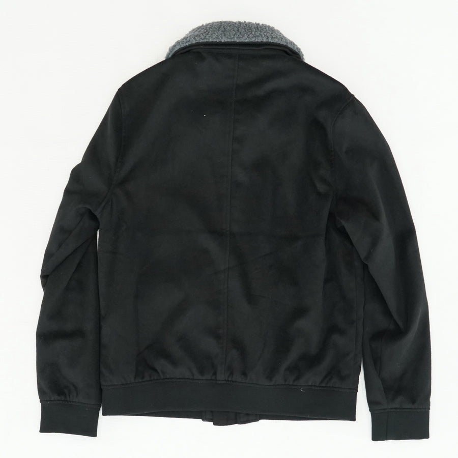 Full Zip Jacket with Removable Sherpa Collar - Size M