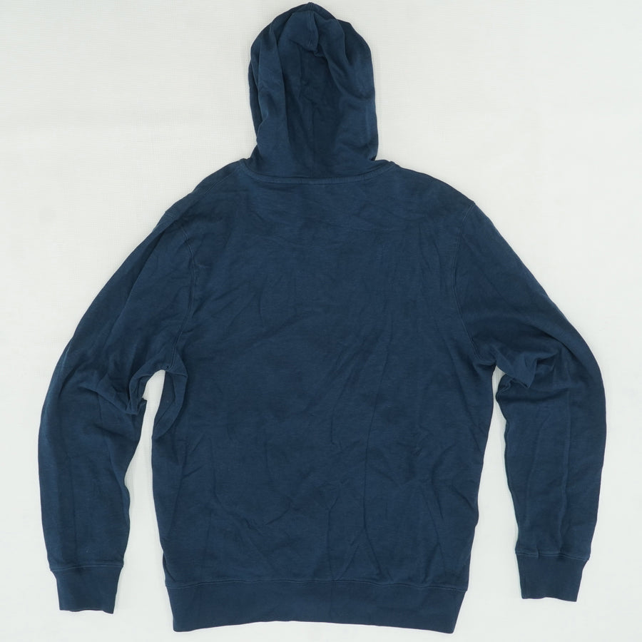Blue Solid Jacket Size XL
