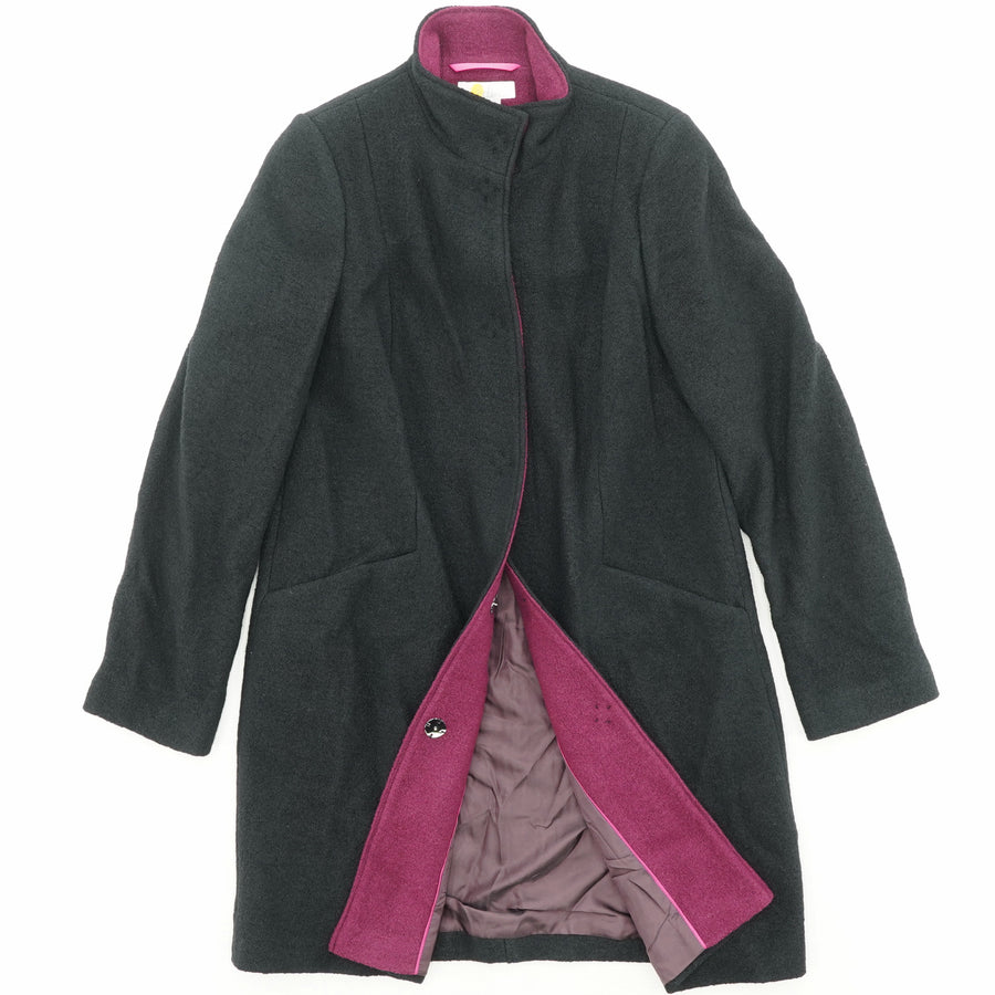 Mid-Length Wool Jacket Size 10R