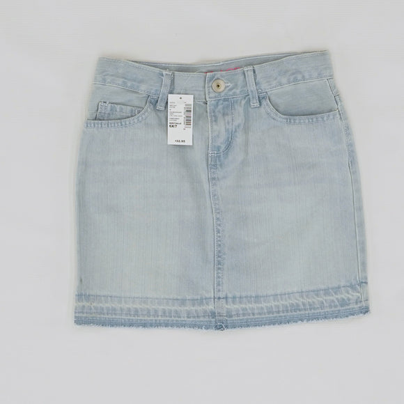 Denim 5-Pocket Skirt Size 6/7