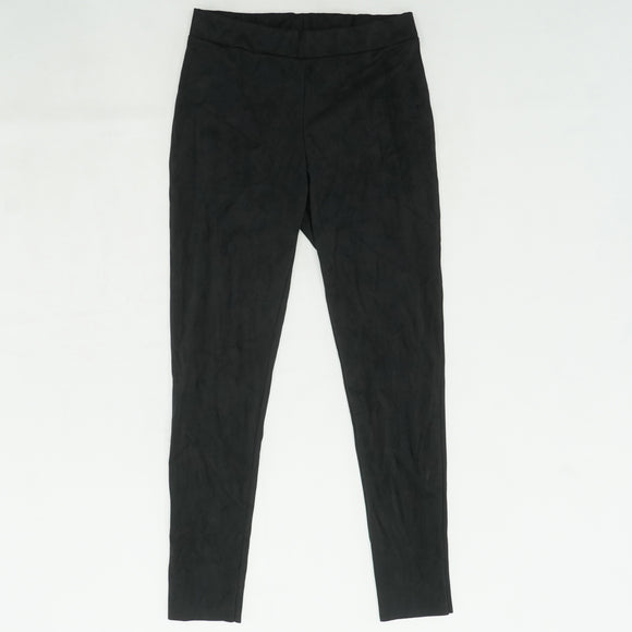 Black Velour Leggings Size 12