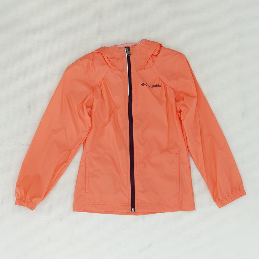 Neon Hooded Windbreaker Size XS