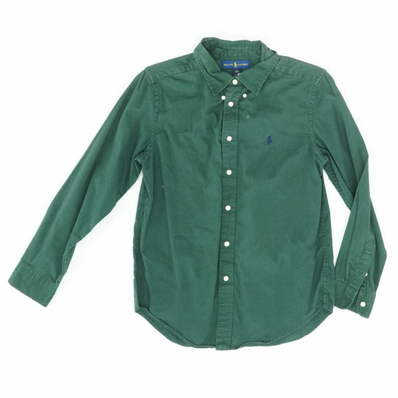 Hunter Green Button Down Shirt Size L