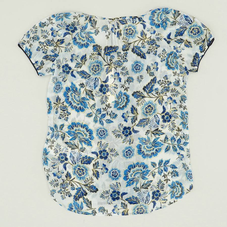 Floral Peasent Blouse Size XS