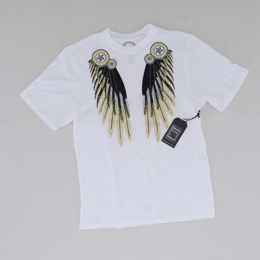 Dream-Catcher Wings Patched Graphic Tee