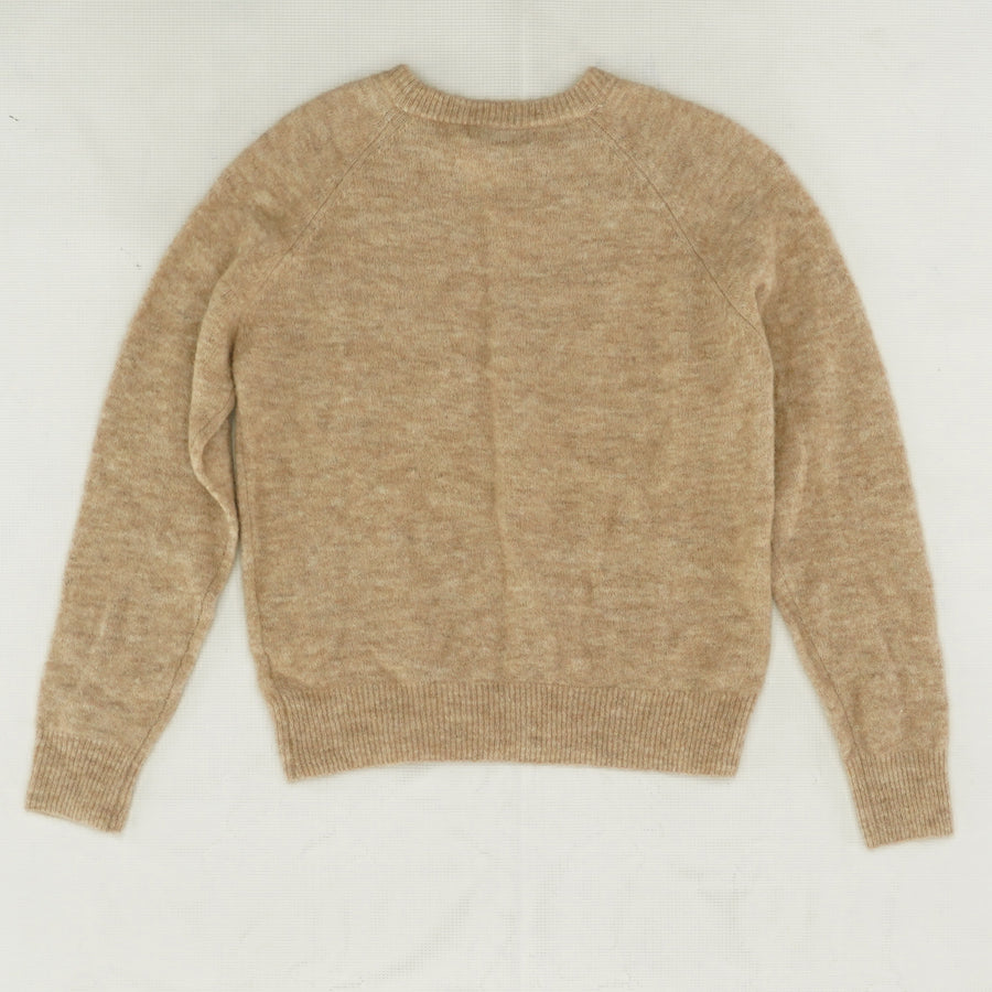 Brown Alpaca Wool Blend Sweater - Size XS