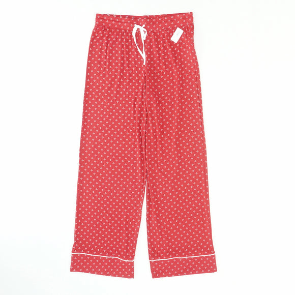 Red Modal Pajama Pants Size S