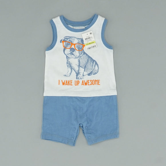 Animal Graphic One Piece Size 3-6 Months