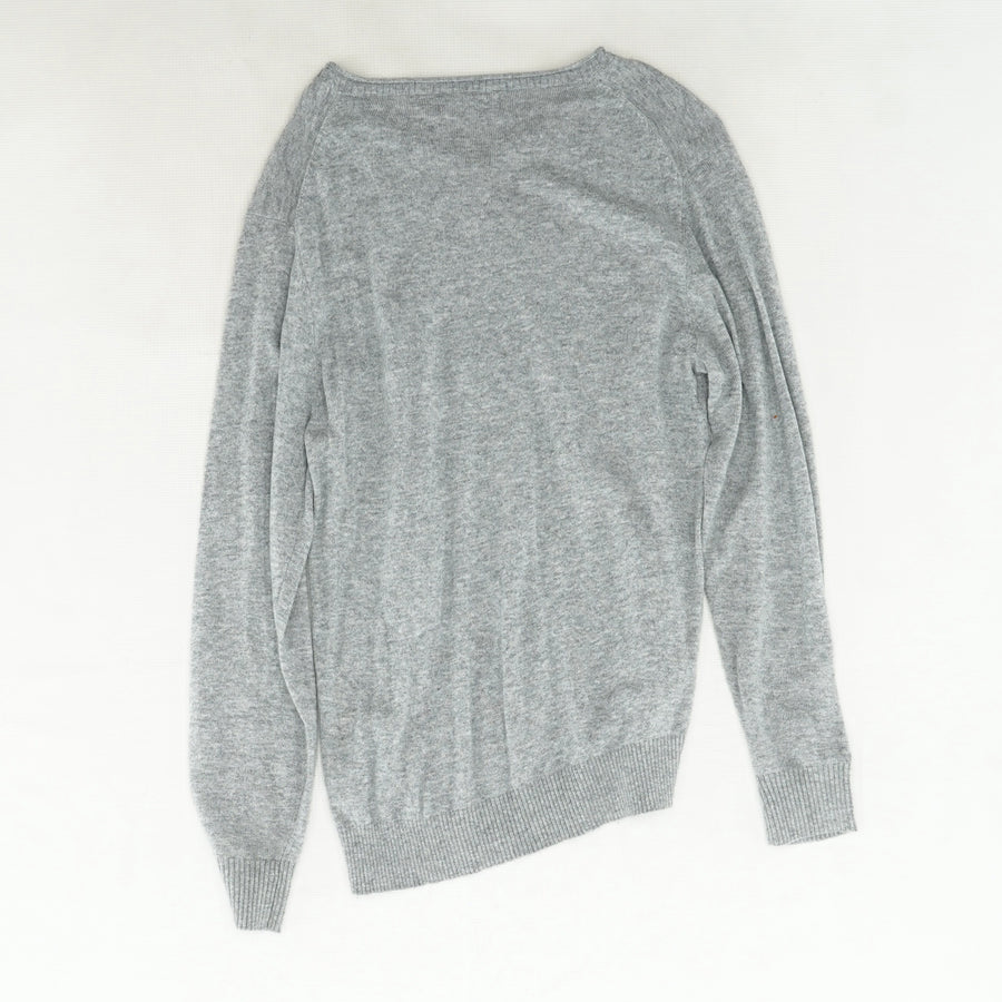 V Neck Pullover Sweater Size M