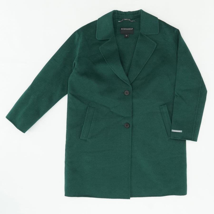 Huntergreen Double Face Car Coat Size L