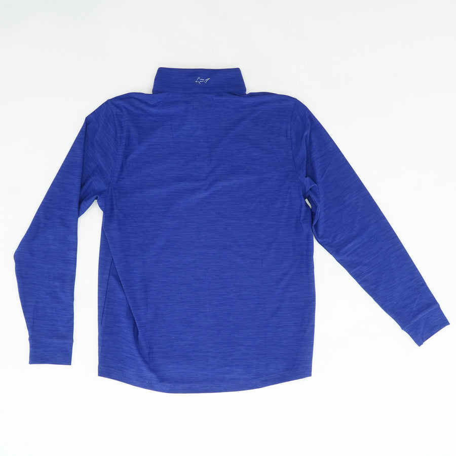 Blue Half Zip Pro Series Jacket Size M