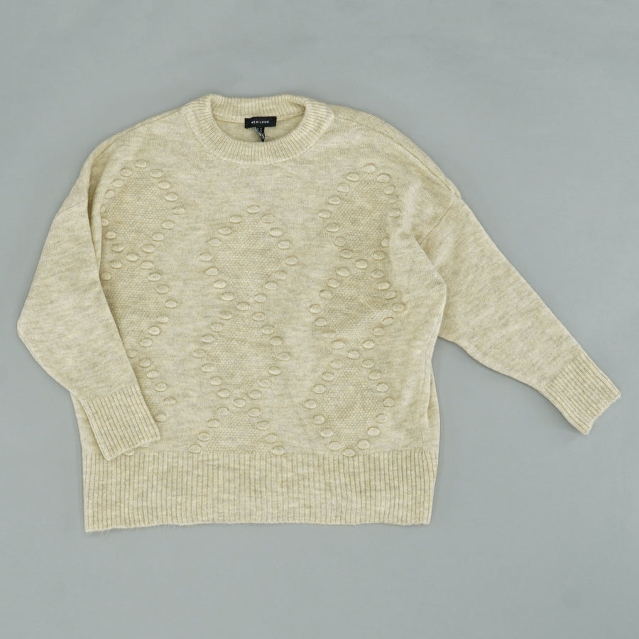 Bobble Agryle Sweater Size M