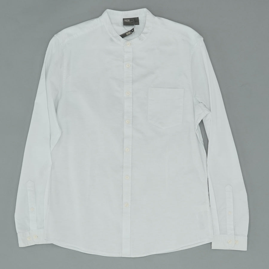 White Skinny Fit Button Down Size L