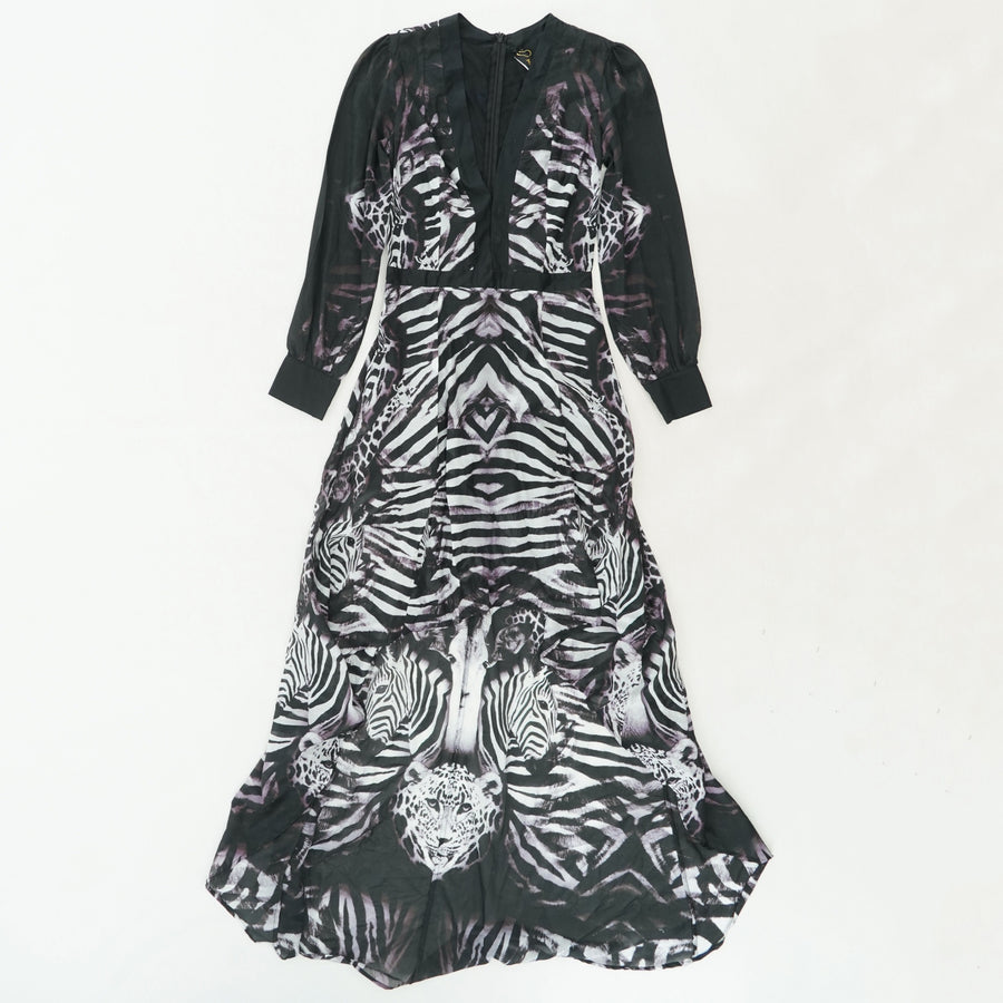 Primal Long Sleeve Dress Size S