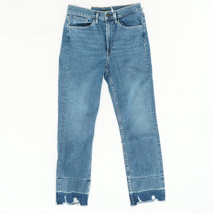 Shelter Slim Crop High Rise Jeans Size 27