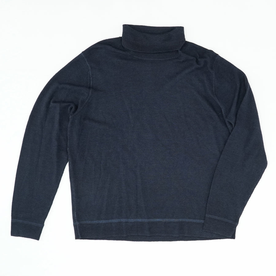Navy Turtleneck Sweater Size 2XL