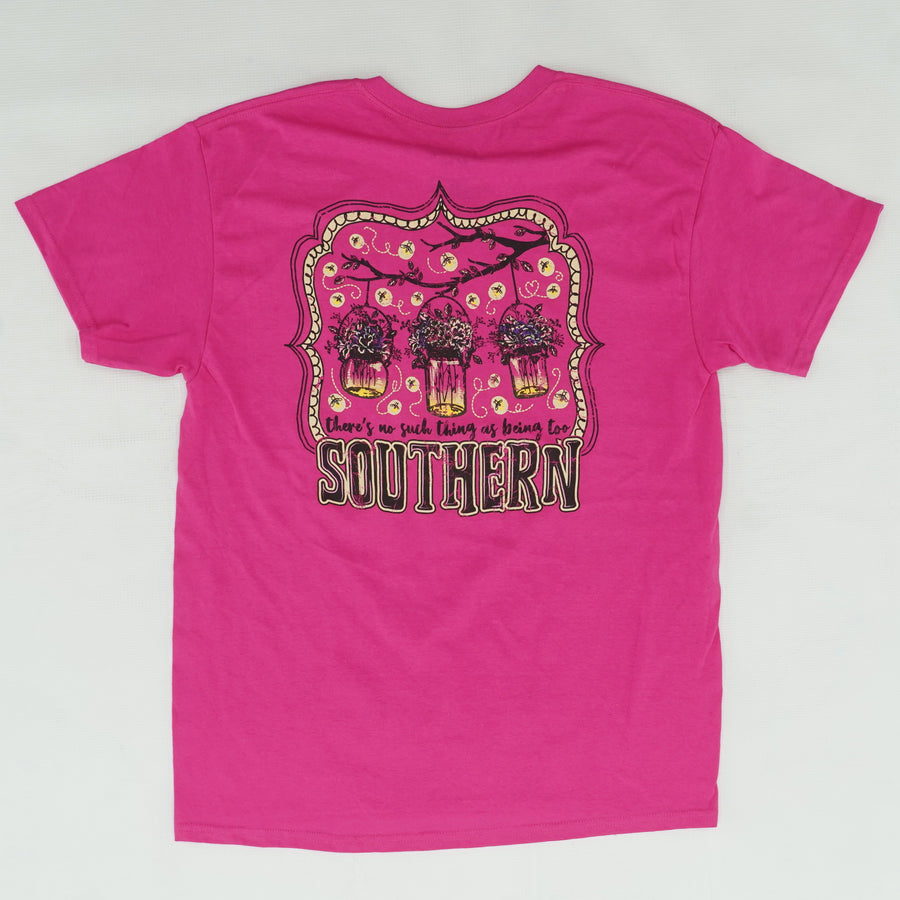 Fuchsia Alabama Girl Tee Size L & XL