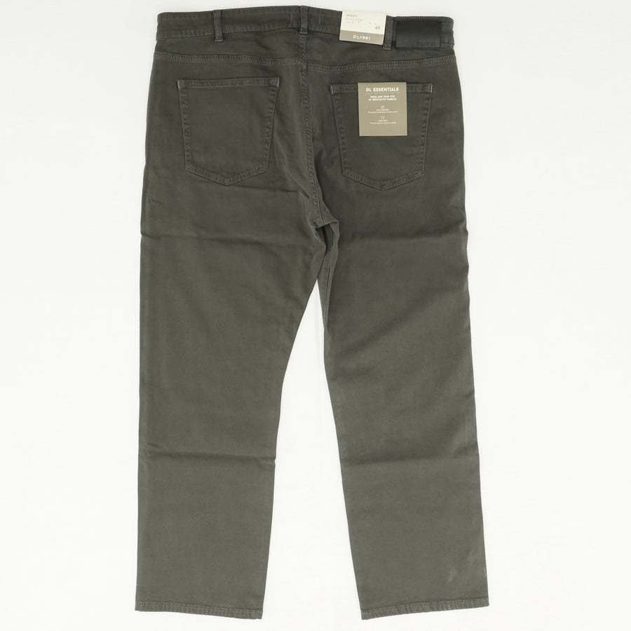 Avery Gray Modern Straight Jeans
