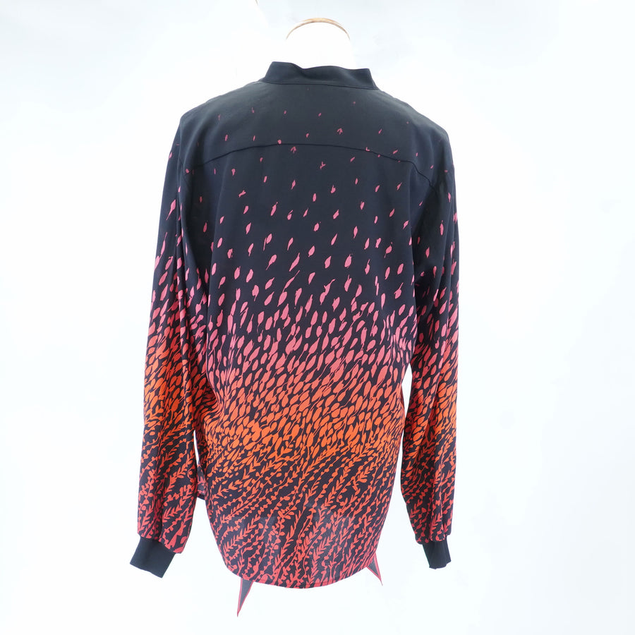 Feather Print Blouse Size 38