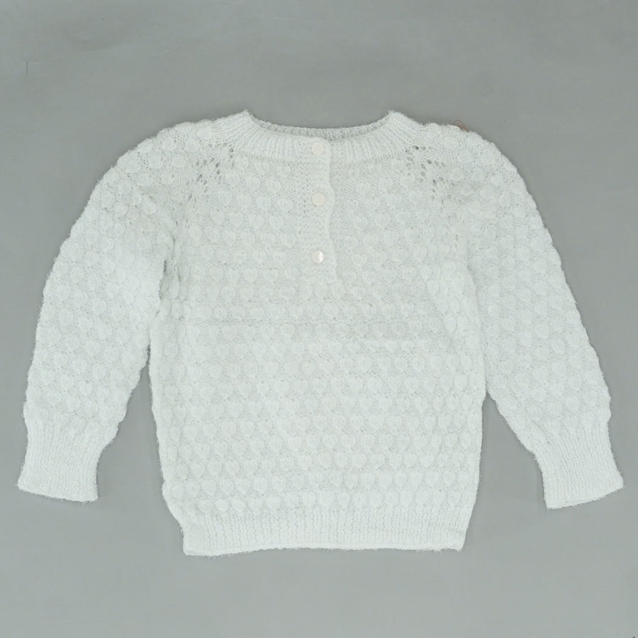 Pom Pom Detailed Sweater Size M/L