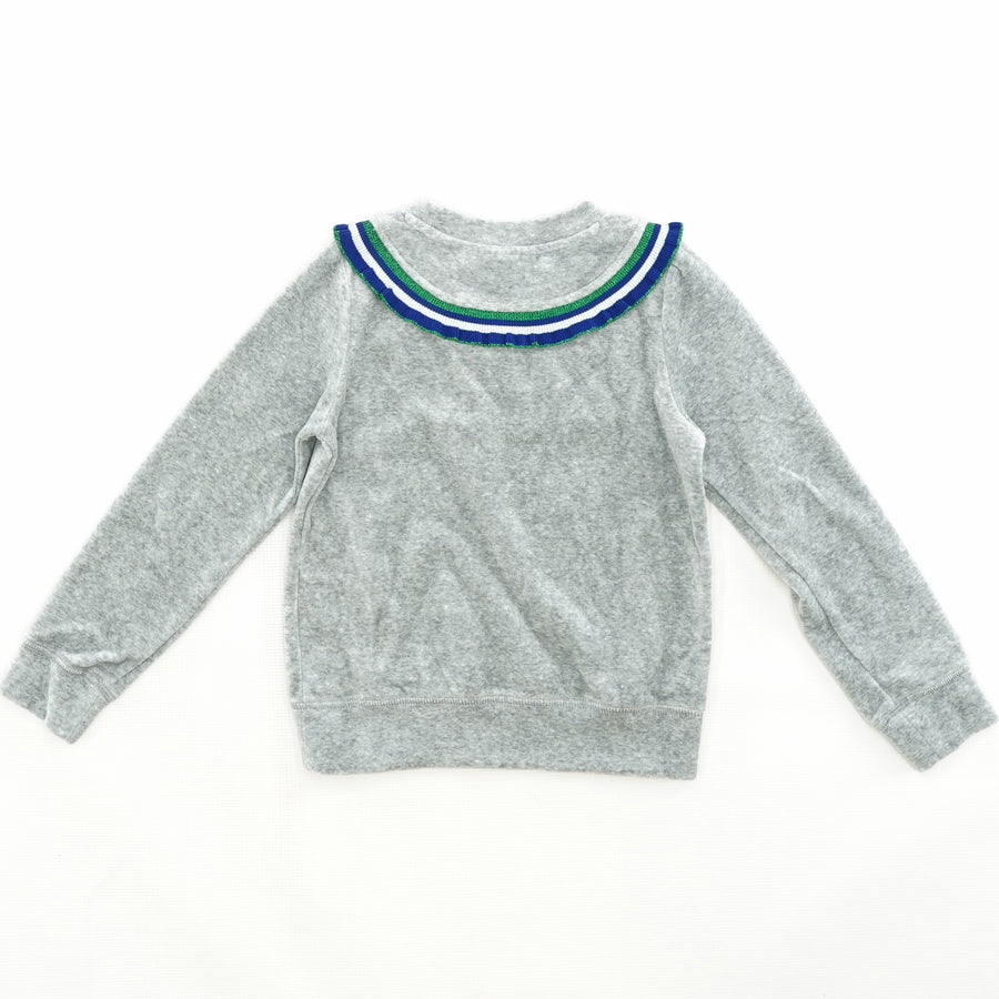 Casual Collared Sweater Size 7/8