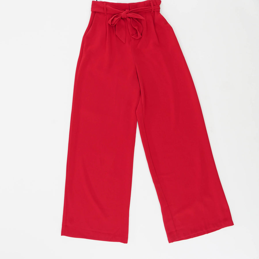 Wide Stride Wide Leg Pant