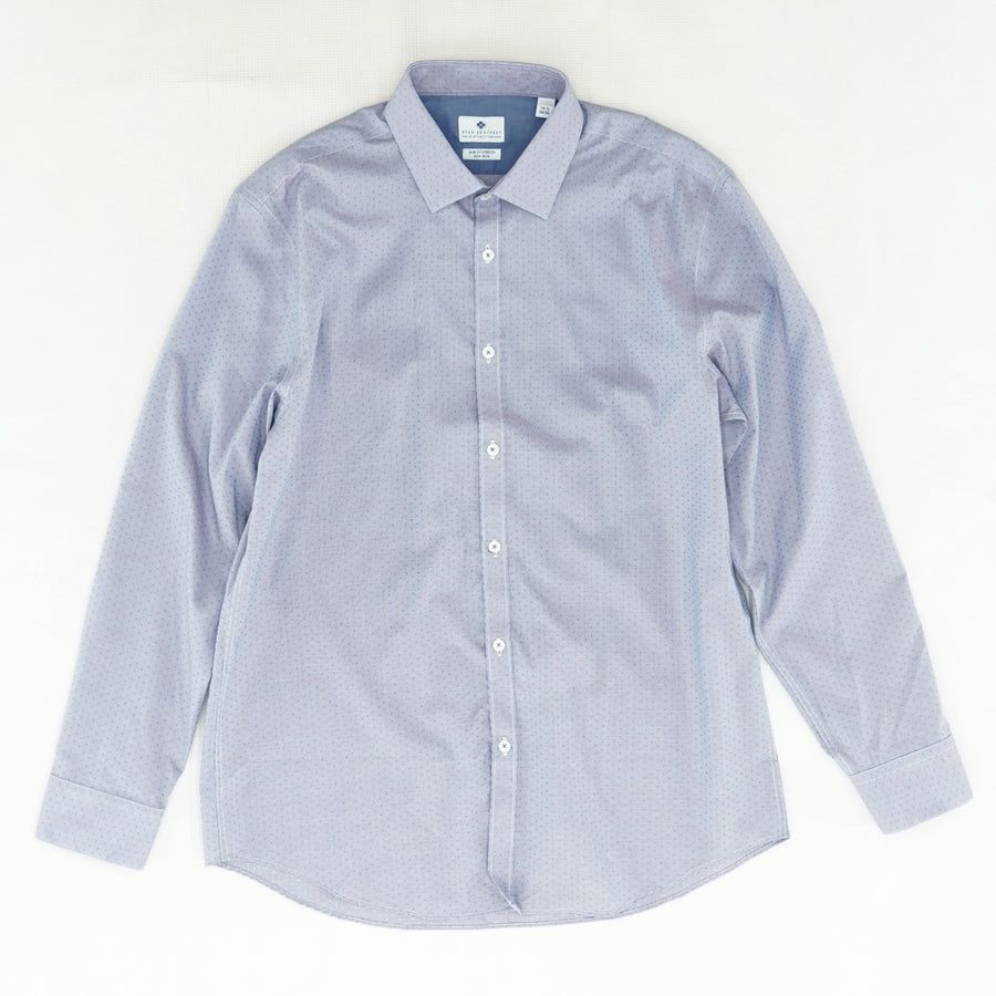 Slim Fit Stretch Dress Shirt Size 16.5