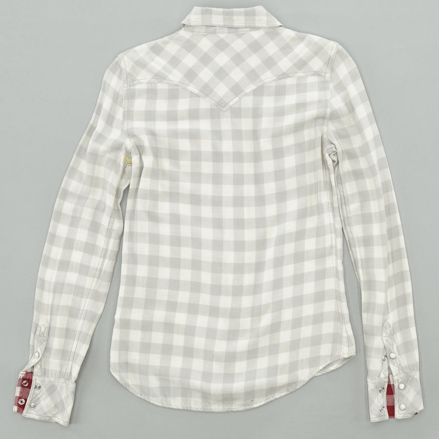 Gray Checked Button Down Size XS