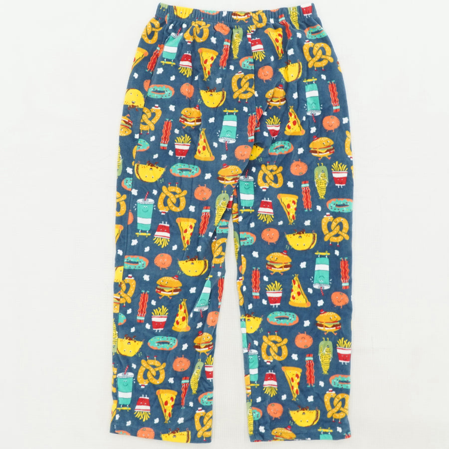 Foodie Fleece Pajama Bottoms Size 8