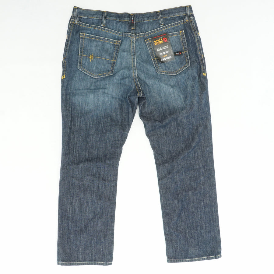 M4 Low Rise Work Jeans Size 42Wx32L