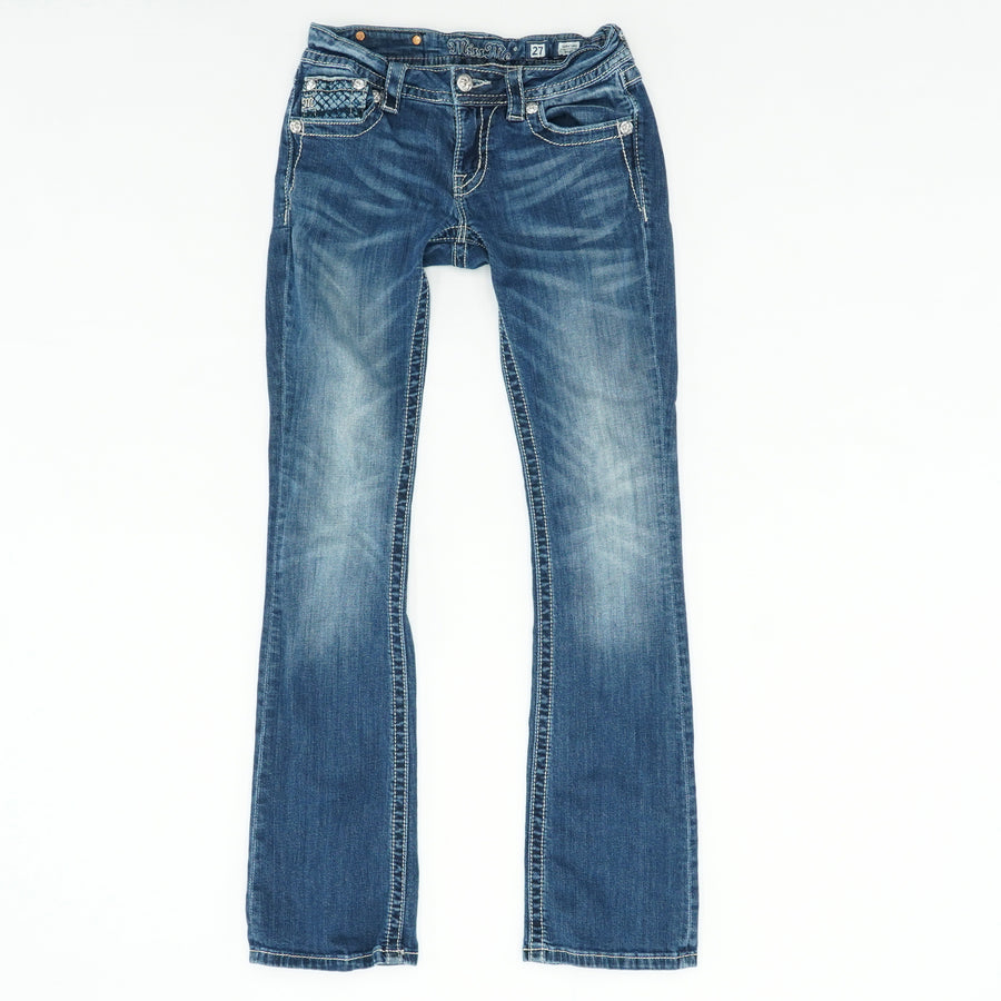 Signature Boot-Cut Jeans Size 27