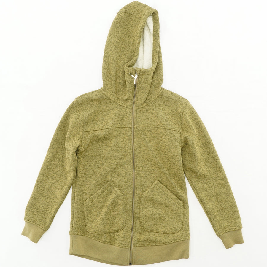 Minxy Fleece Full Zip Sweatshirt Size S