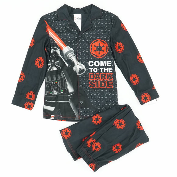 """Come To The Dark Side"" Pajama Set Size 4/5"