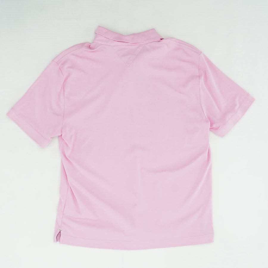 Pink Polo Shirt Size L