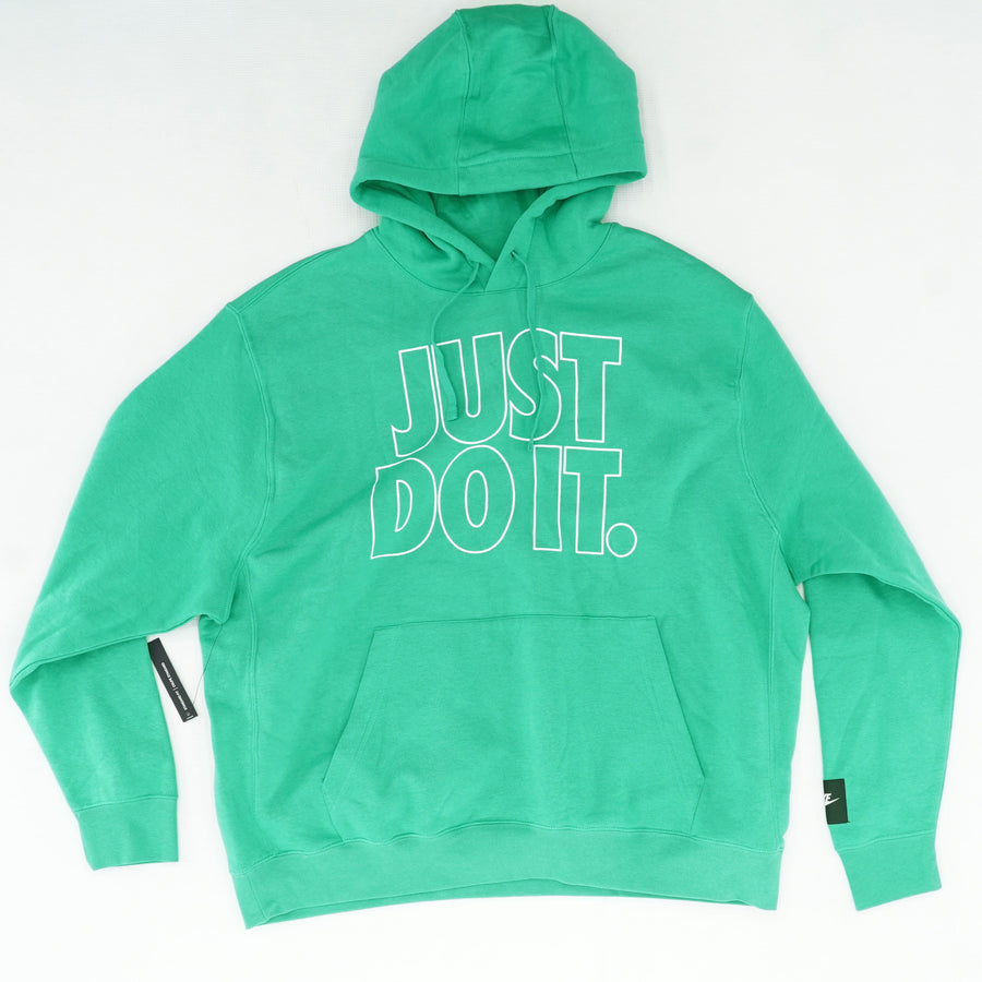 """Just Do It"" Kelly Green Pullover Hoodie Size XXL"
