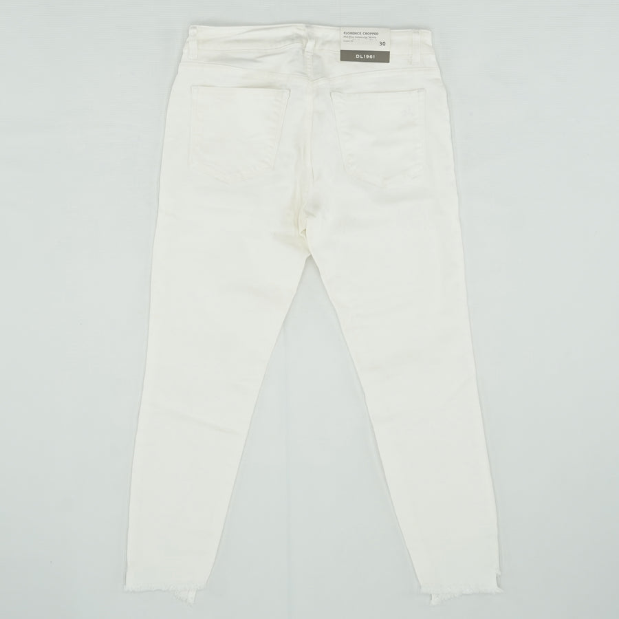 Florence Cropped Mid-Rise Jeans