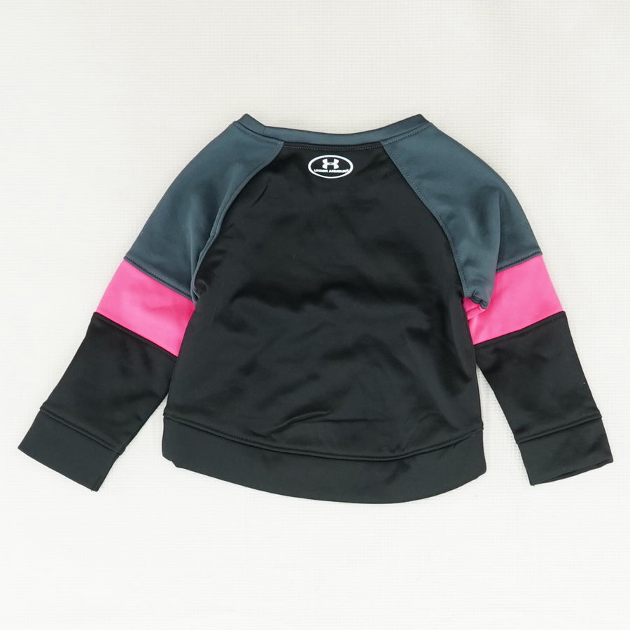 Black and Pink Long Sleeve T Shirt Size 12M