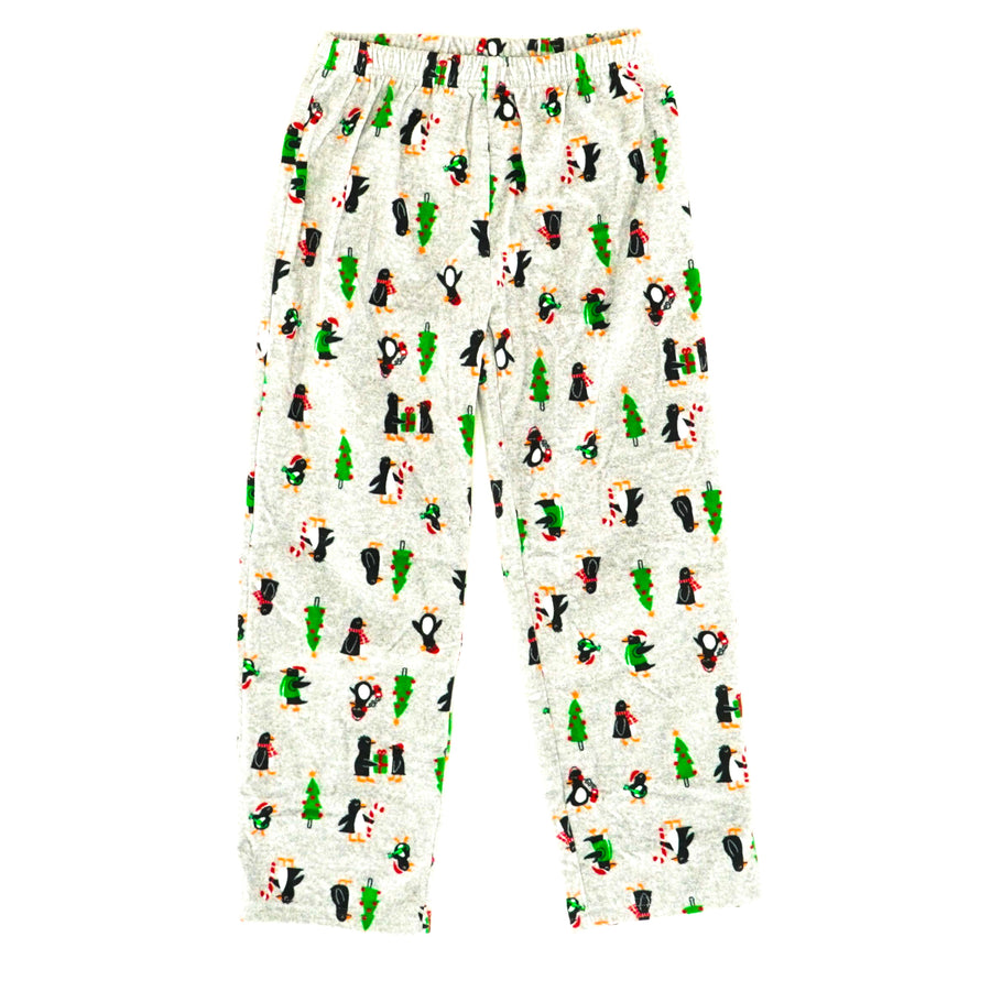 Penguin Fleece Pajama Bottoms