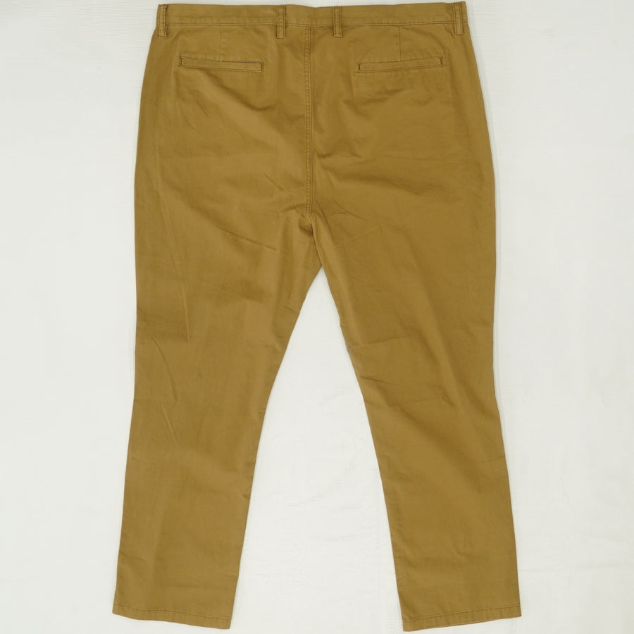 Khaki Slim Fit Pants - Size 42Wx30L