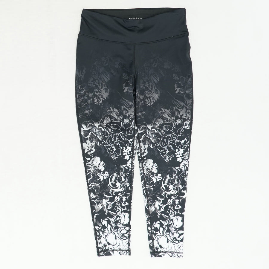 Faded Flower Leggings - Size M
