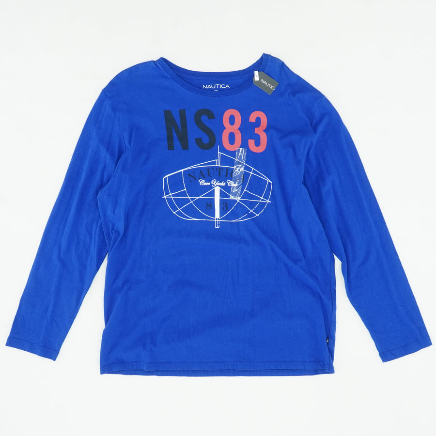"Cobalt ""NS-83"" Long-Sleeve Graphic Tee"