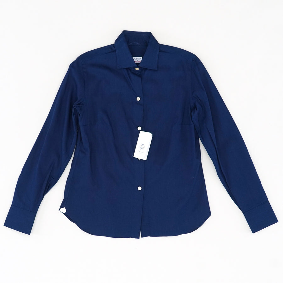 Casual Navy Button Down Size S
