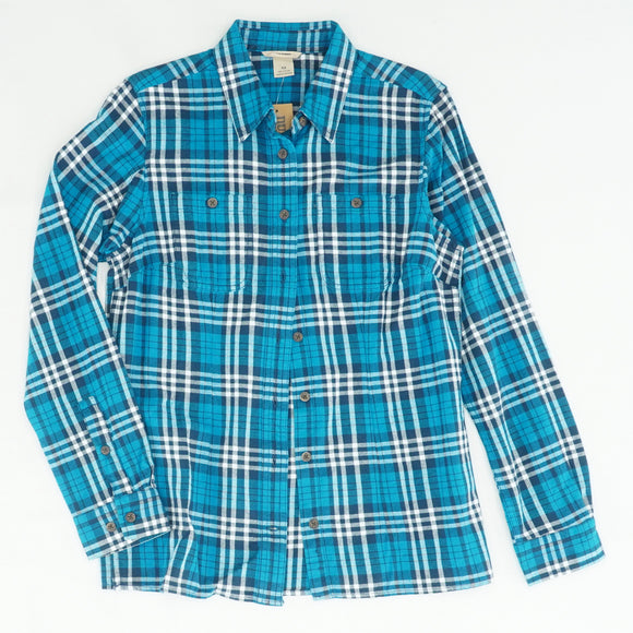 Free Swingin' Flannel Shirt Rabplad Size XS