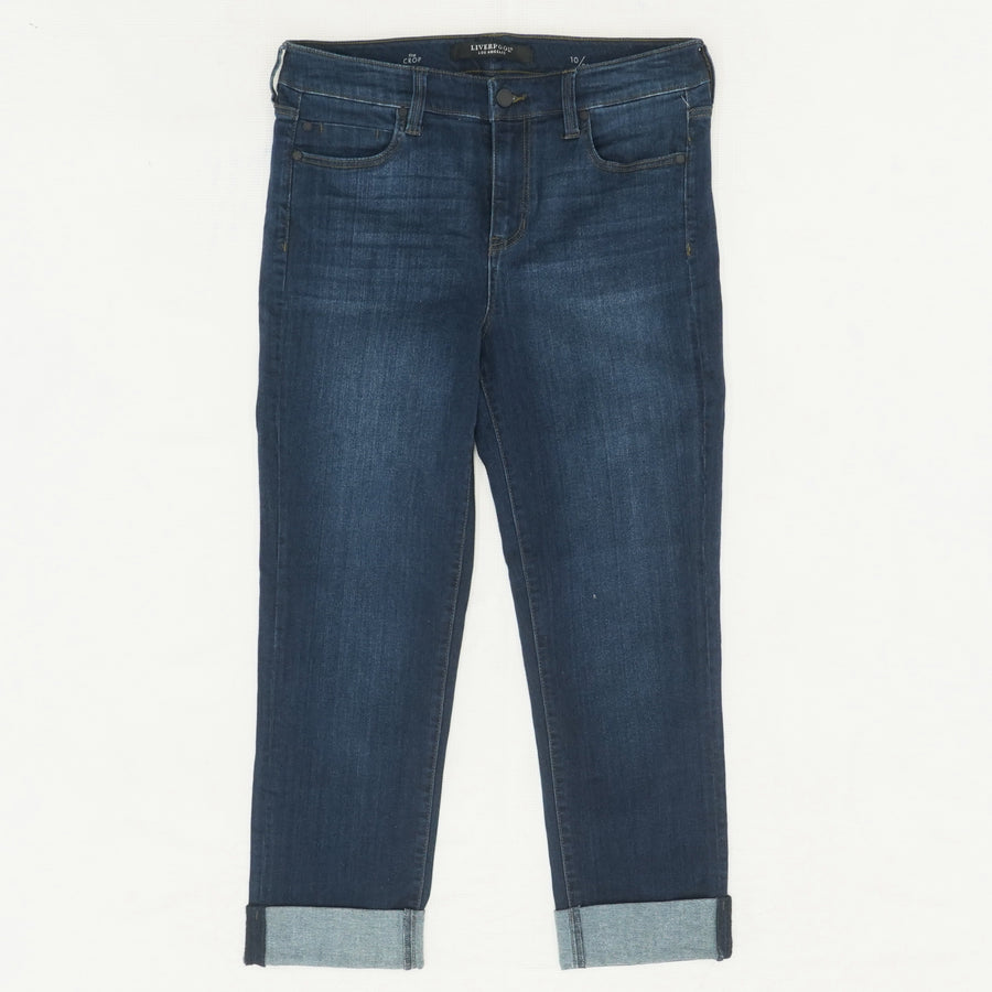 The Crop Jeans In Doheny Dark - Size 10