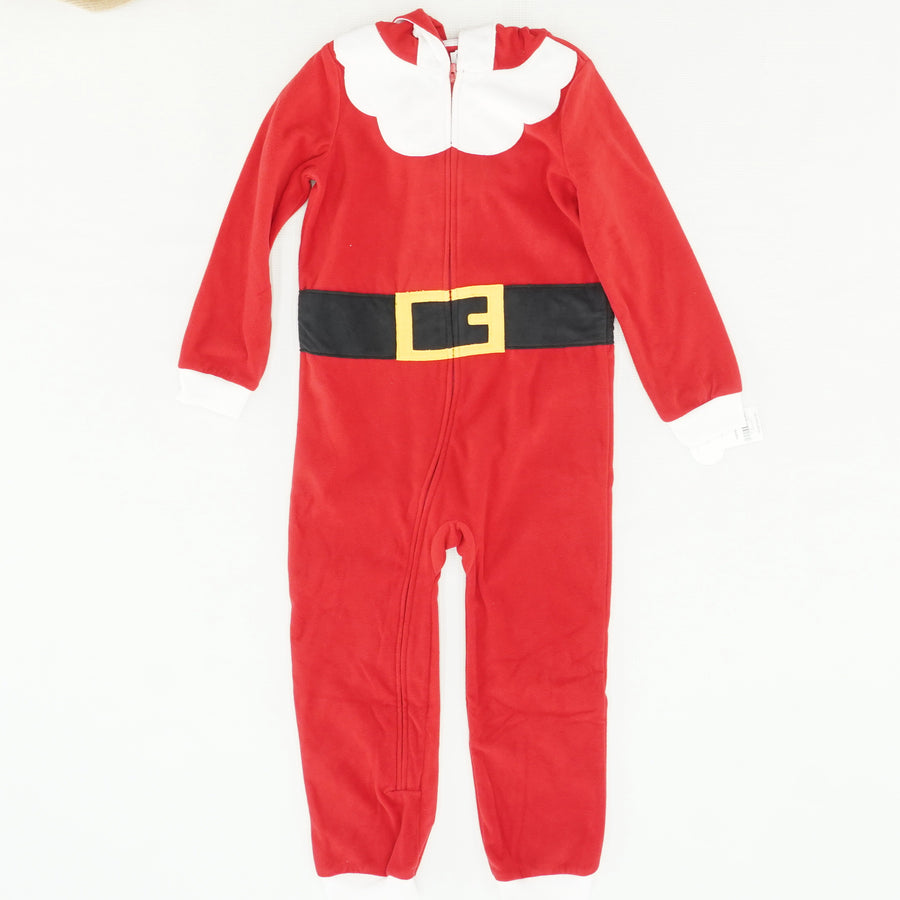 Hooded Santa Pajamas Size 6