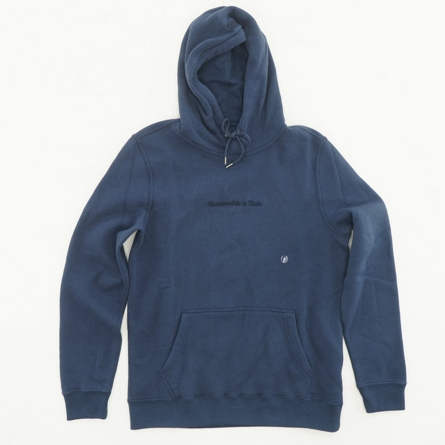 Navy Logo Hoodie Size S