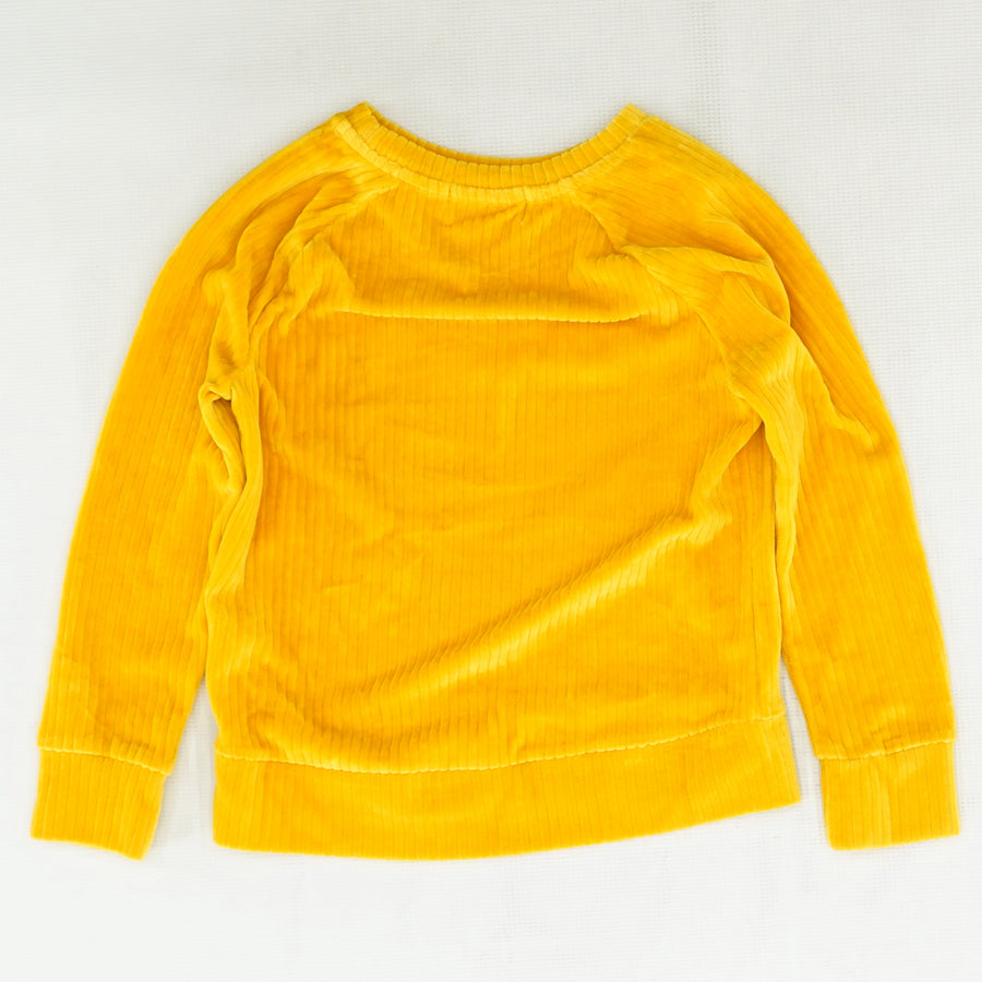 Yellow Ribbed Sweater Size 8